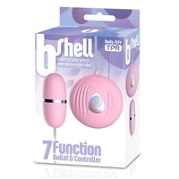 The BShell 7 Function Bullet Vibe Pink - KinkyDiva