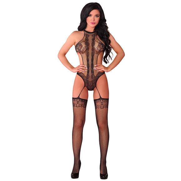 KinkyDiva Corsetti Manoella Body and Stockings UK Size 8 to 12 £16.99