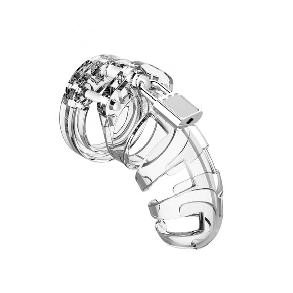 KinkyDiva Man Cage 02 Male 3.5 Inch Clear Chastity Cage £40.99