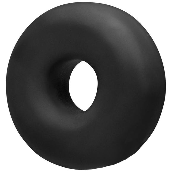 OxBalls Big Ox Super Mega Stretch Silicone Cock Ring Black - kinkydiva-com