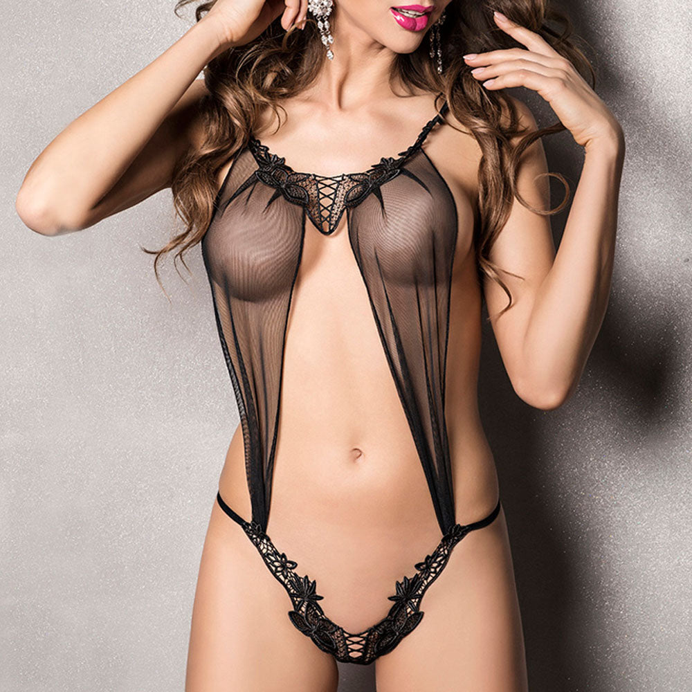 Passion Athena Body Black - kinkydiva-com