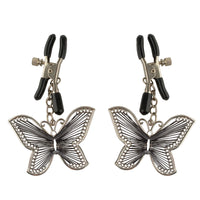 Fetish Fantasy Series  Butterfly Nipple Clamps - kinkydiva-com