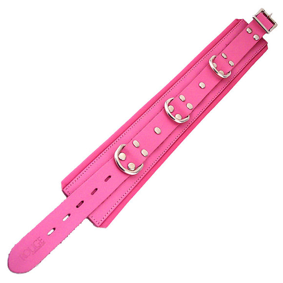 KinkyDiva Rouge Garments Pink Padded Collar £32