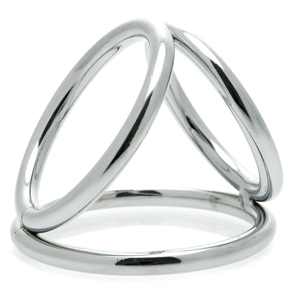 KinkyDiva The Triad Chamber Cock And Ball Ring Large £15.99