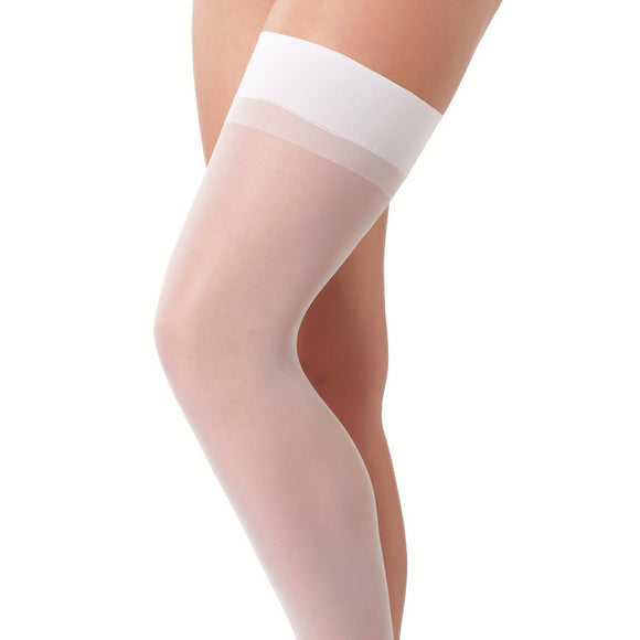 White Sexy Stockings - kinkydiva-com