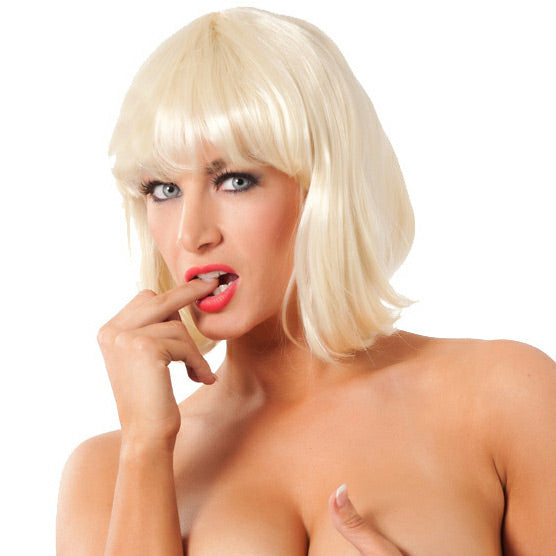 Short Blonde Wig - kinkydiva-com