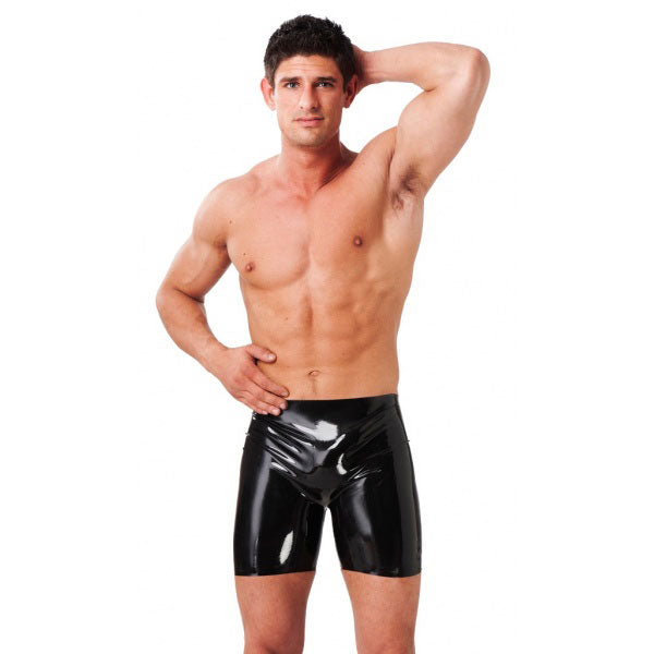 Latex Mens Bermuda Shorts - kinkydiva-com