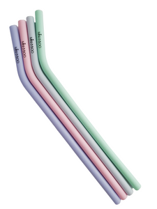 SECONDS Silicone Straw (Long Bent)