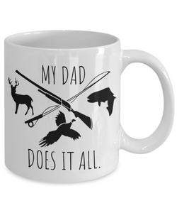 Dad Mug | Outdoorsman Dad Gift