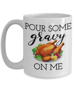 Gravy Thanksgiving Mug
