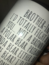 Load image into Gallery viewer, Brother in Law mug * Discounted due to Mug Imperfections