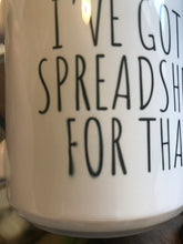 Load image into Gallery viewer, Only $5! Spreadsheet Funny Mug **Discounted due to blurry letters**