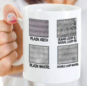 Fingerprint Mug | Forensic Gift