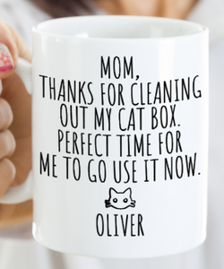 Cat Mom Mug | Funny Cat Gift
