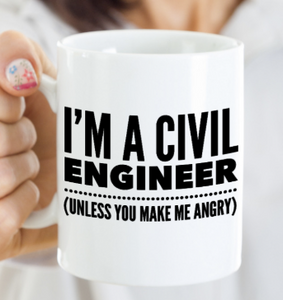 Civil Engineer Mug | Engineering Gift