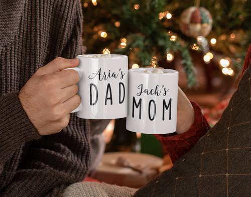 Mom & Dad Mug Personalized