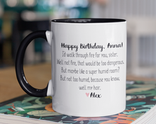 Load image into Gallery viewer, Funny Sister Birthday Mug
