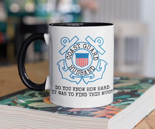 Coast Guard Mug | USCG Husband Gift