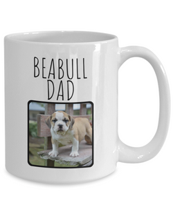 Beabull Mug | Upload your own picture!