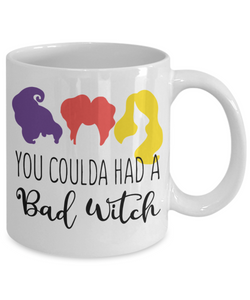 Witch Mug | You Coulda had a Bad Witch