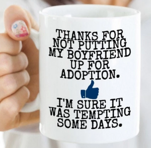 Mother In law Mug | Boyfriend, Girlfriend Mom Gift