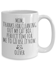 Load image into Gallery viewer, Cat Mom Mug | Funny Cat Gift