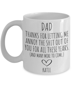 Dad Mug | Father's Day Gift from Daughter
