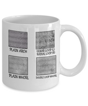 Load image into Gallery viewer, Fingerprint Mug | Forensic Gift