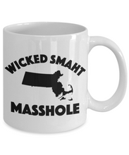 Load image into Gallery viewer, Masshole Mug | Wicked Smaht Masshole Gift