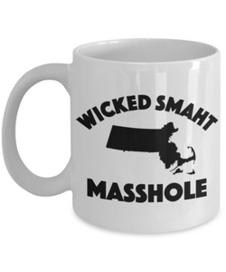 Masshole Mug | Wicked Smaht Masshole Gift