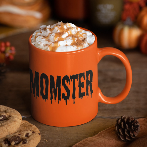 Momster Mug | Halloween Mom Gift