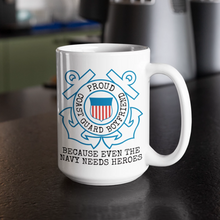 Load image into Gallery viewer, Coast Guard Mug | USCG Boyfriend | Navy Joke