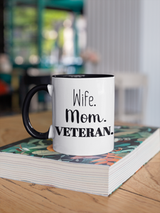 Wife. Mom. Veteran.