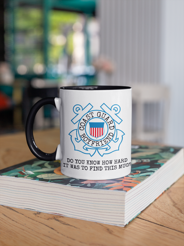 Coast Guard Mug | USCG Boyfriend Gift