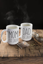 Load image into Gallery viewer, Mom and Dad Coffee Mug Set