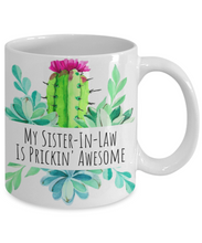 Load image into Gallery viewer, Sister-In-Law Mug | Cute Cactus Design