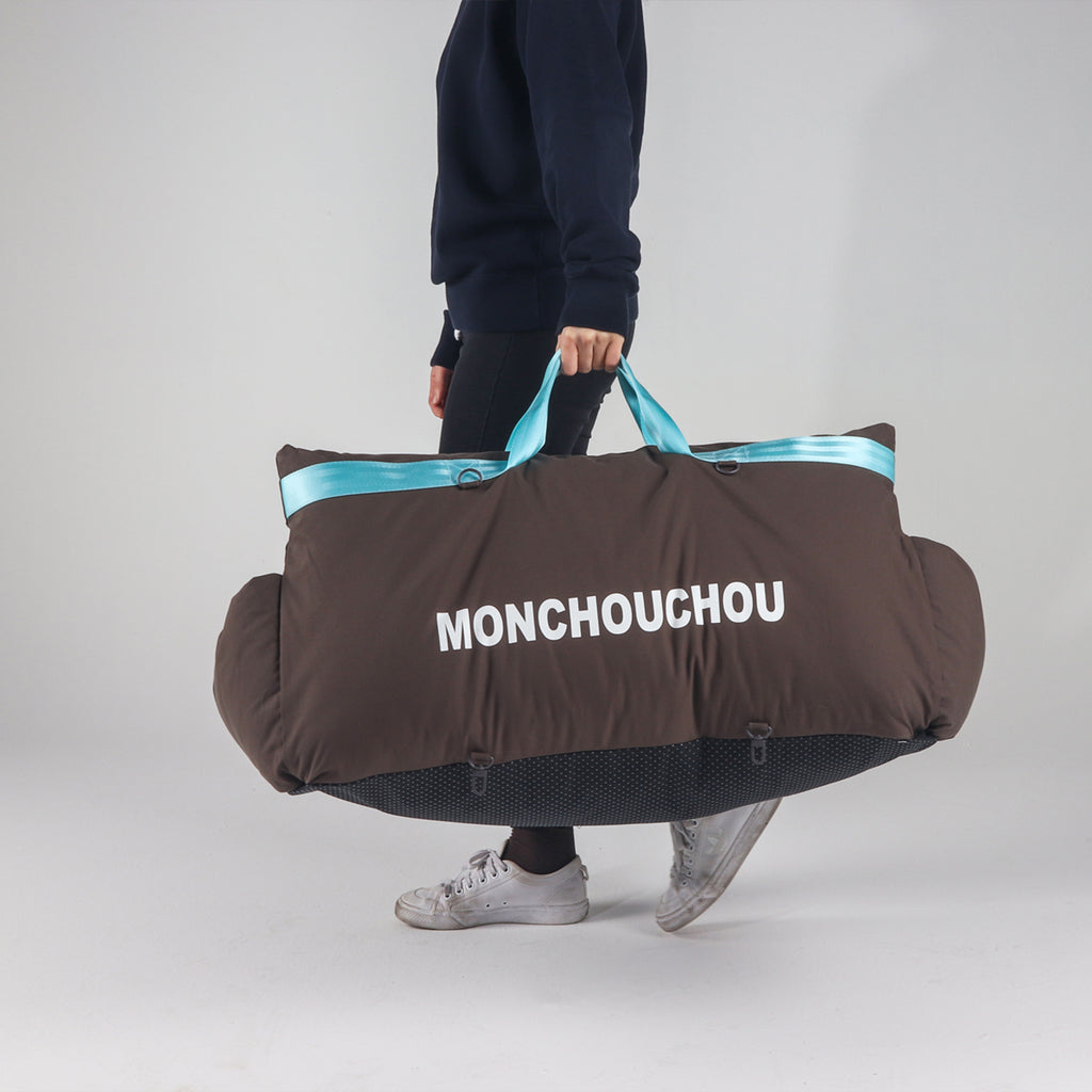 ※予約販売【monchouchou】8th Mon Carseat_Super Size(クーパーブラウン)
