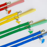 ※予約販売【DURANG RURANG】Dinosaur Harness & Lead SET(グリーン)