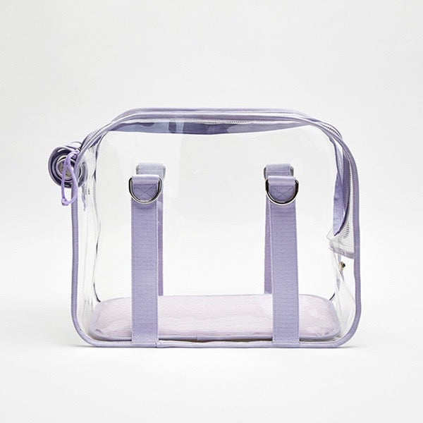 ※予約販売【ONE OF US】French Clear Bag( Purple )