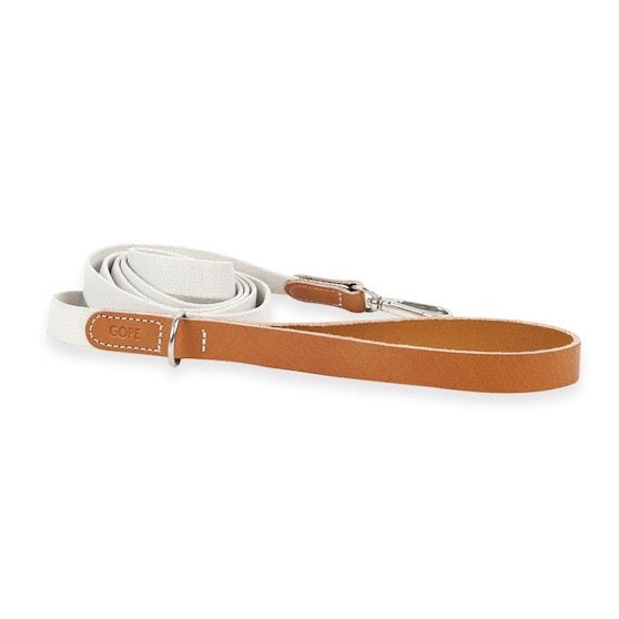 ※予約販売【GOPE】 Nature Leash(Tan / Ivory)