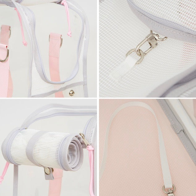 ※※予約販売【ONE OF US】French Clear Bag(  pink ade )