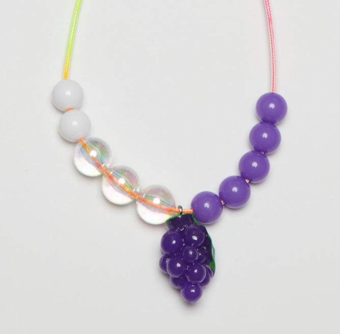 【DDOANG】HAND MADE  GRAPE NECKLACE