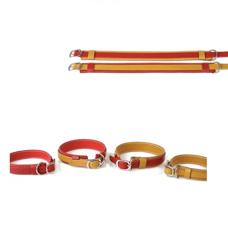 ※予約販売【GOPE】 Signature Collar(Red / Yellow)