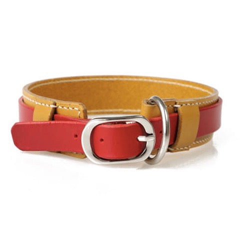 ※予約販売【GOPE】 Signature Collar(Yellow / Red)