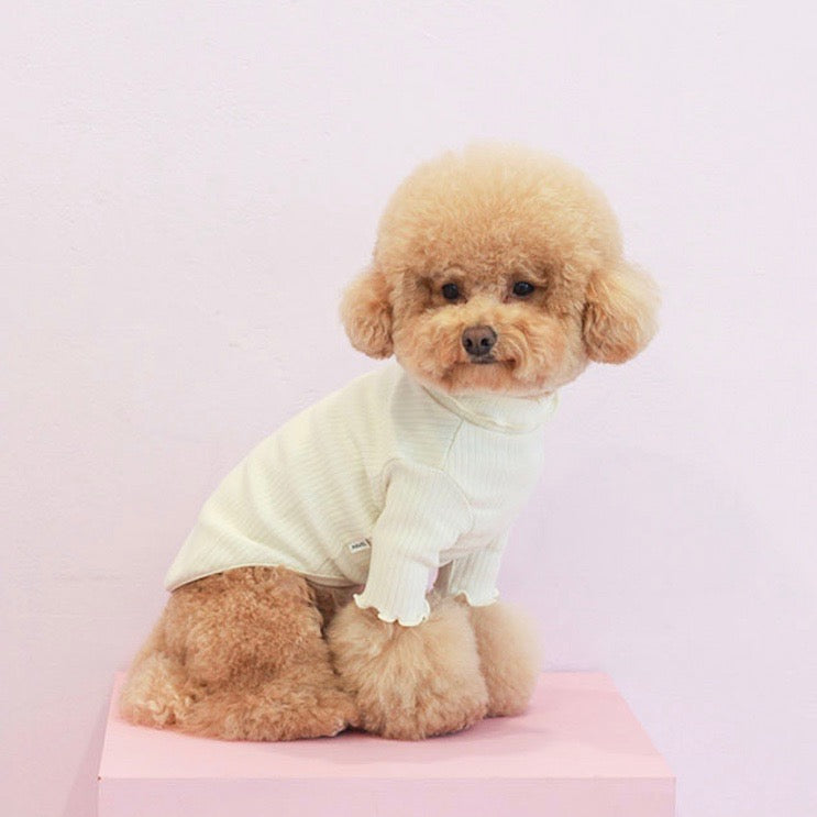 ※予約販売【noutti】ice cream turtleneck tops(4color)