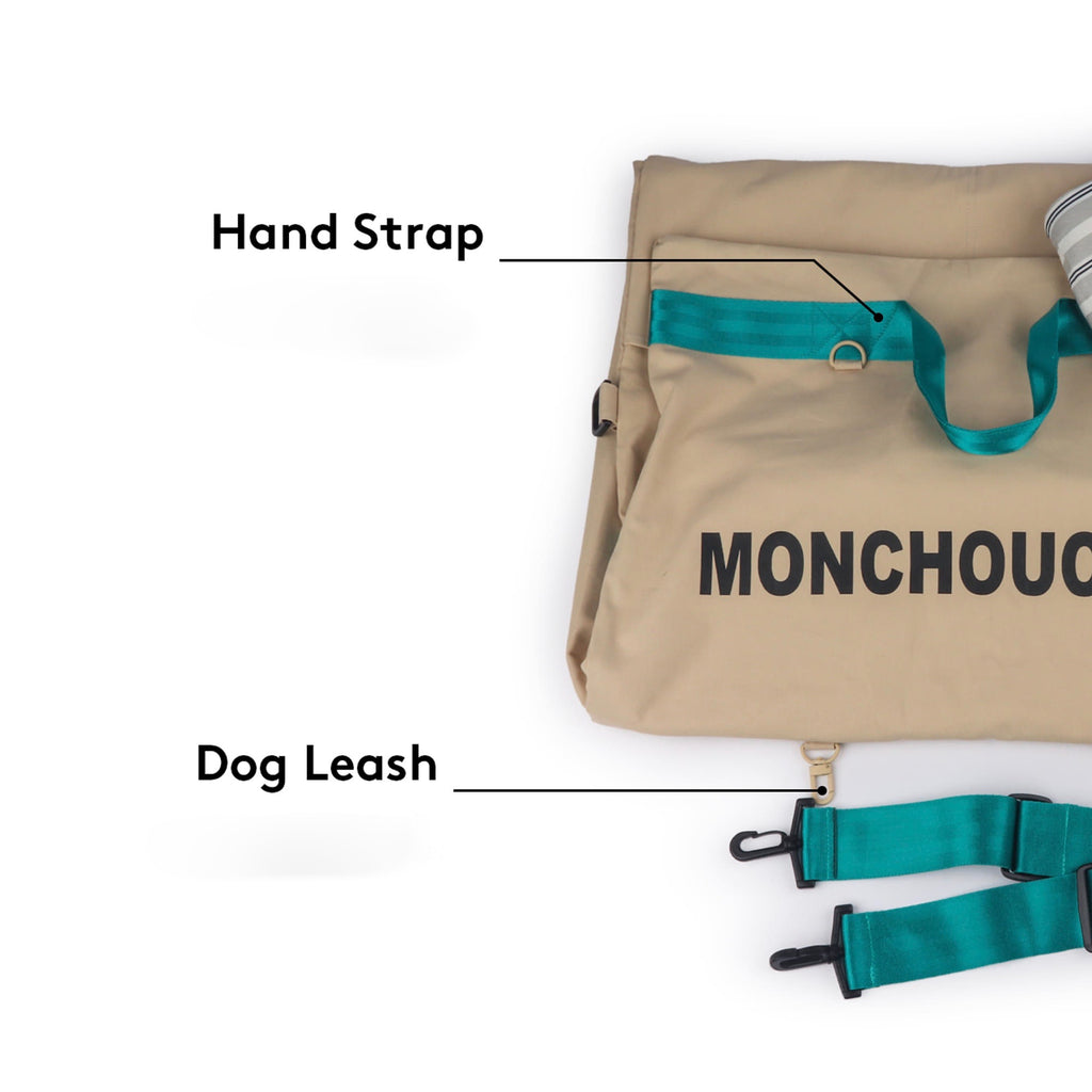 ※※予約販売【monchouchou】8th Mon Carseat_Super Size(ダヴベージュ)