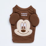 ※予約販売【disney】Mickey Mouse sleeveless(ブラウン)