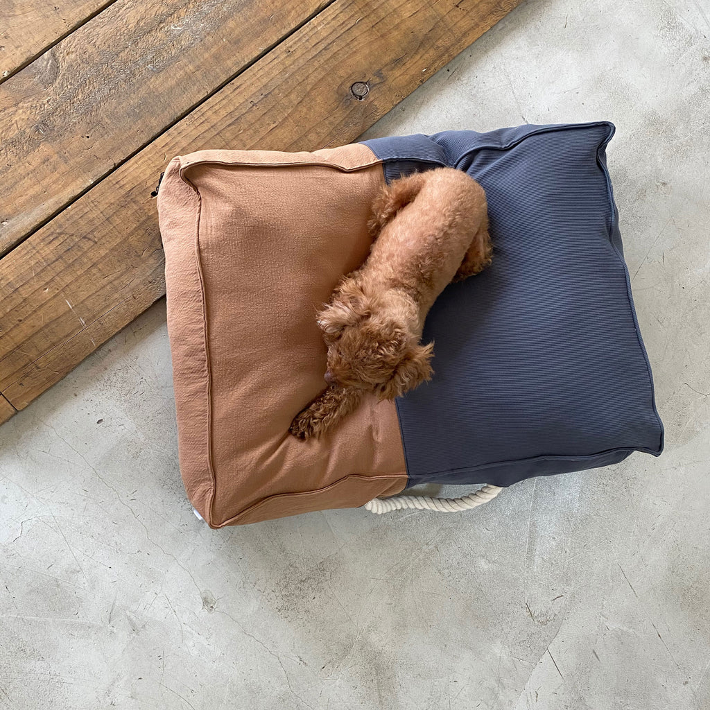 ※予約販売【monchouchou】The Standard Cushion(ブラウン)