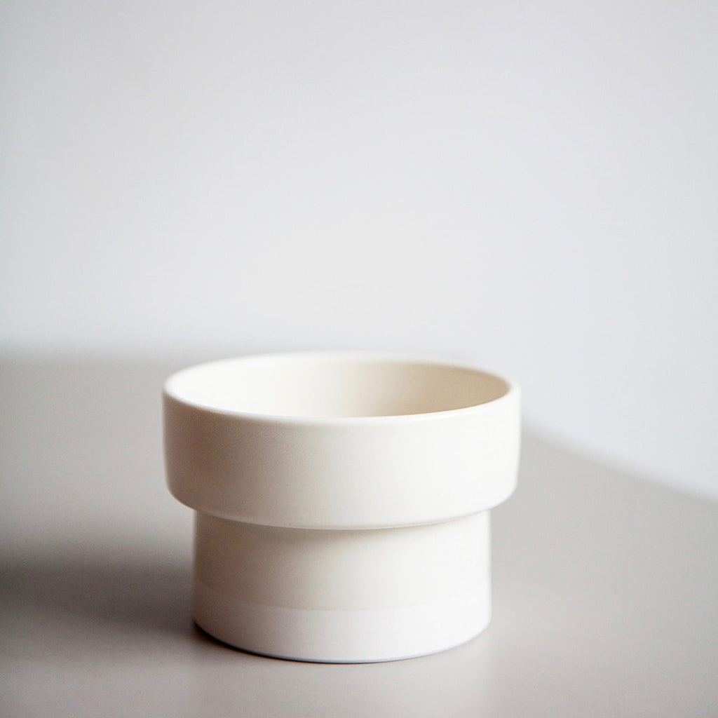 【BORIYO】 Food bowl(White)