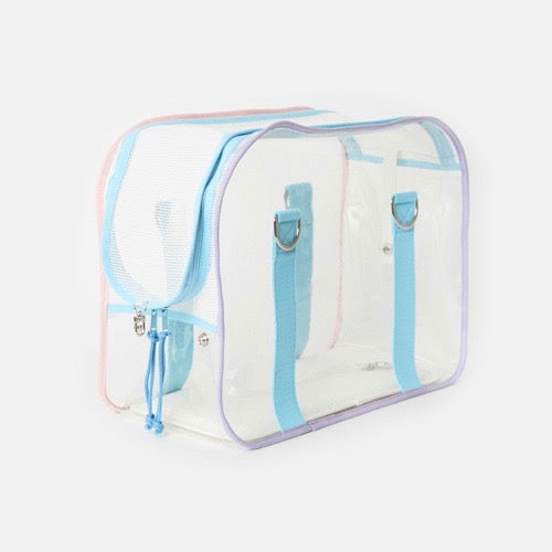 ※※予約販売【ONE OF US】French Clear Bag( Candy )